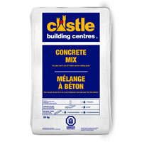 "CASTLE CONCRETE STONE MIX 30KG, 12""x20"", Grey"