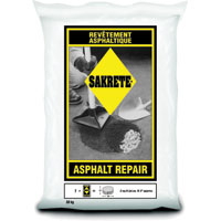 "SAKRETE ASPHALT REPAIR 30KG, 12""x20"", Black"