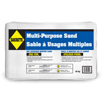 "SAKRETE ALL PURPOSE SAND 30KG, 12""x20"", Brown"