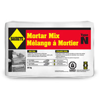 "SAKRETE MORTAR MIX 30KG, 12""x20"", Grey"
